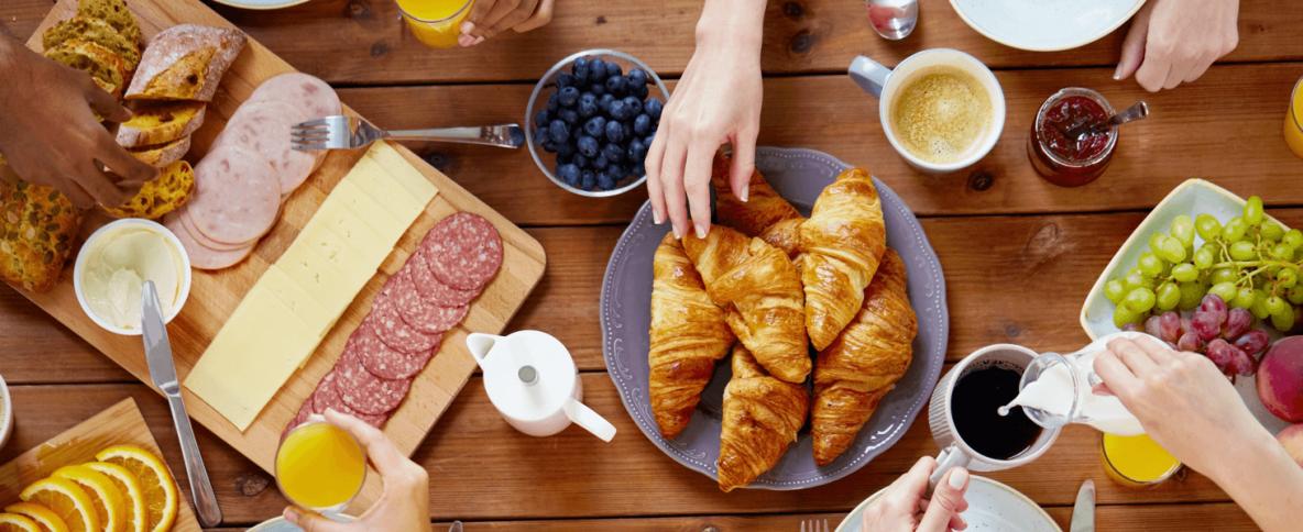 Women in luxury construction networking breakfast Vivid Hospitality Solutions